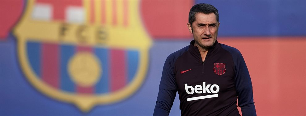 Quique Setién está esperando la llamada del Barça para echar a Ernesto Valverde y tomar su relevo