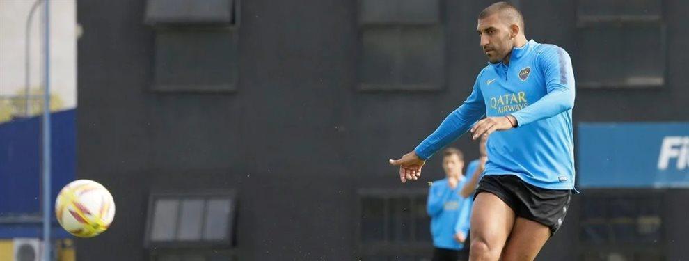 Wanchope Ábila podría formar parte del equipo que visitará a River en el Monumental.