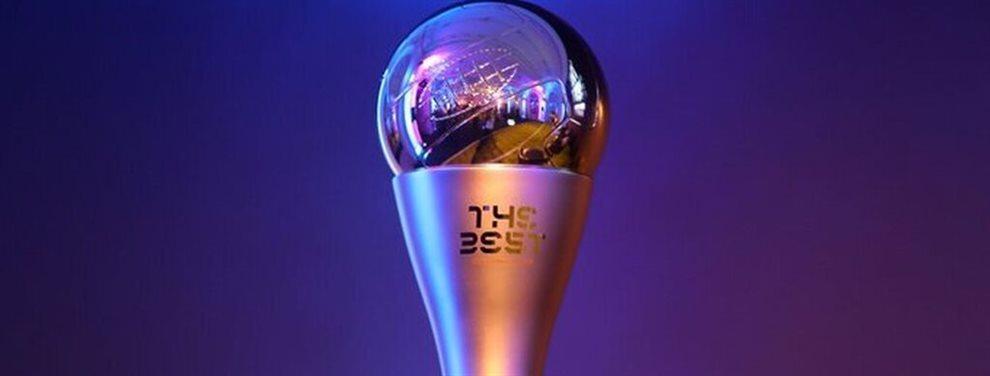 El detalles de cada uno de los distinguidos en la gala de los premios The Best organizada por la FIFA.
