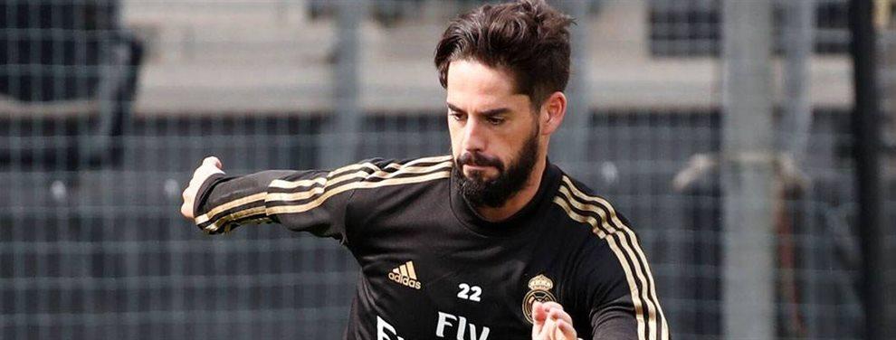 Nacho Fernández no está nada contento con su situación actual en el Real Madrid y se ha revelado