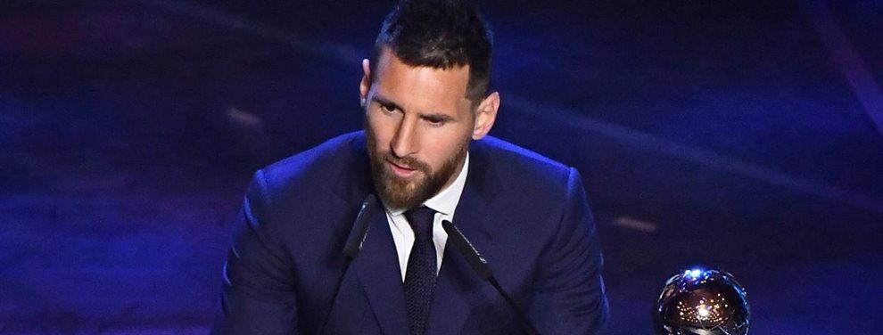 Leo Messi dio el visto bueno a la incorporación de Megan Rapinoe para el Barça femenino