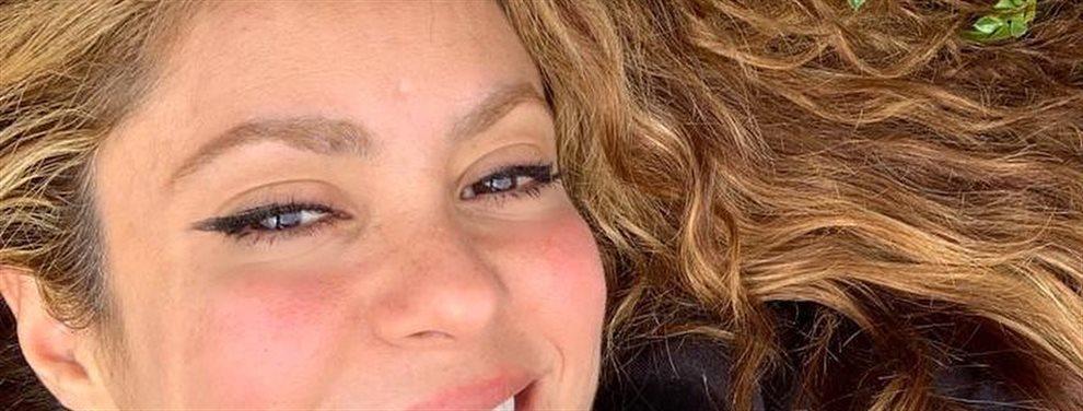 La cantante colombiana le manda un mensaje a Piqué a través de las redes sociales