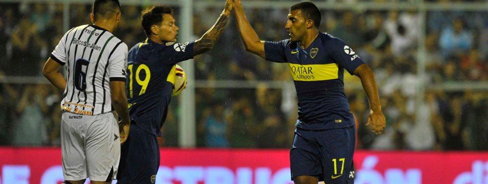 Wanchope Ábila y Mauro Zárate volvieron a entrenar a la par del grupo y estarían disponibles ante River.