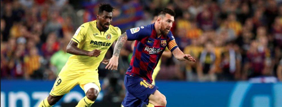 Leo Messi reapareció ante el Villarreal, pero tuvo que ser sustituido al descanso por lesión