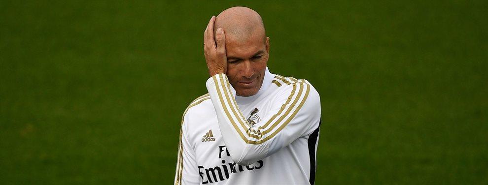 Zinedine Zidane ve con preocupación como Rodrygo Goes no acaba de aclimatarse en el Real Madrid