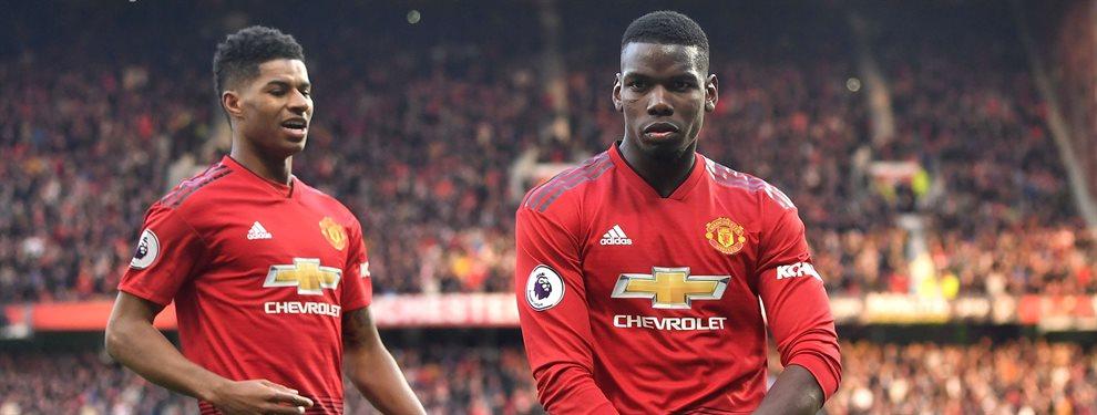 Paul Pogba está cerca de renovar con el Manchester United, pasando a cobrar 35 'kilos'