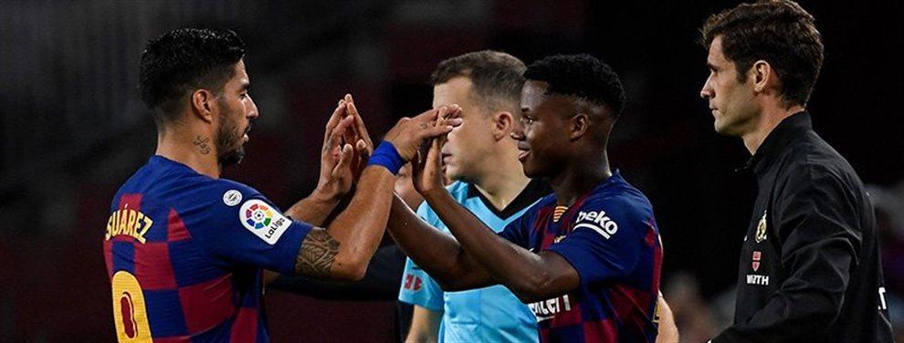 ¡Bomba! Luis Suárez explota: ¡Leo, no aguanto más!. Al delantero le llega una amenaza interna ¡y se plantea esto!