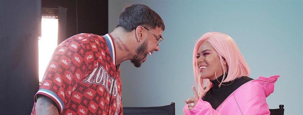 A la pareja de cantantes Karol G y Anuel AA no les gusta para nada separarse por motivos profesionales.