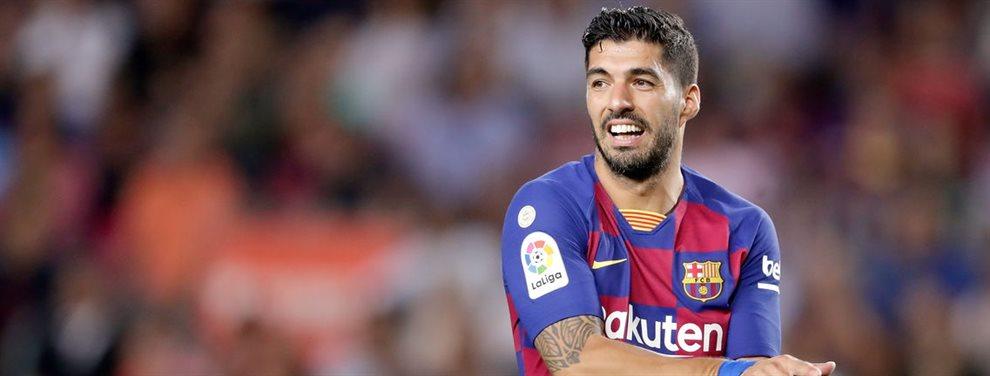 Luis Suárez no tuvo un buen día en el encuentro ante el Villarreal, sacando conclusiones