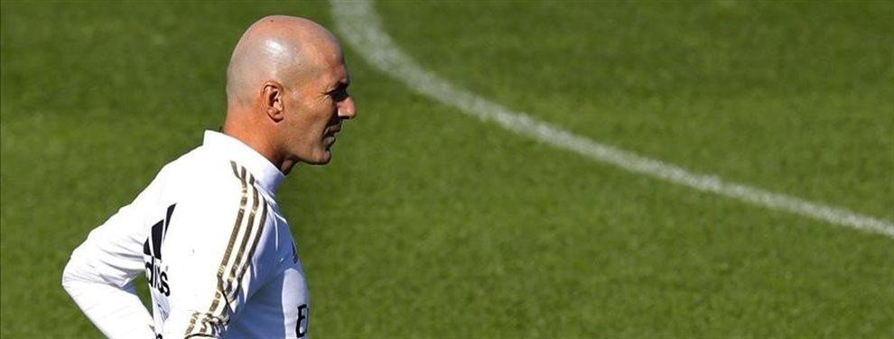 Zinedine Zidane se ha cargado a Mariano Díaz y le ha obligado a vaciar la taquilla