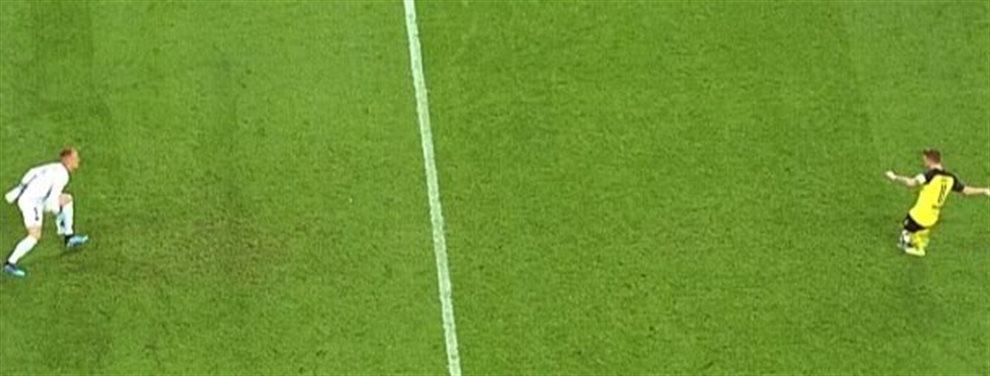 Y para avivar la polémica ayer el alemán falló en el gol del Villarreal