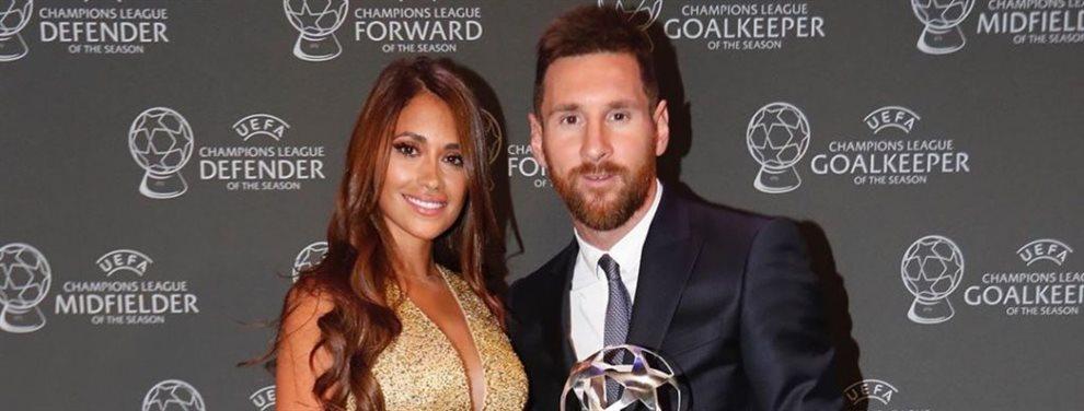 Antonella Roccuzzo está muy preocupada por las lesiones de Leo Messi en este comienzo