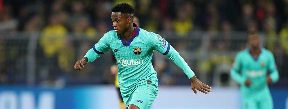 Ansumane Fati puede perderse un mes de competición, incluido el Clásico, si es convocado para el Mundial sub 17