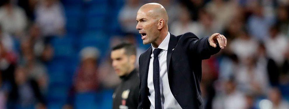 Zinedine Zidane la ha dejado bien claro a Brahim Díaz que no cuenta con él y lo quiere fuera del Real Madrid