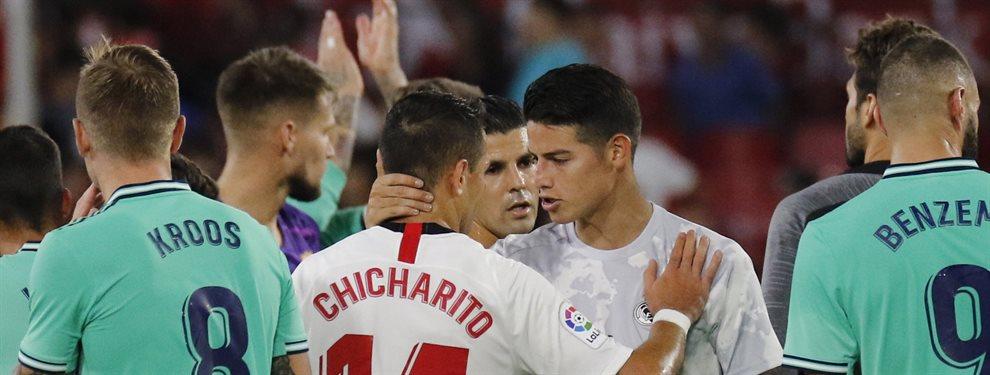 Zidane avisa a James Rodríguez: ¡Brilla ante el Atlético o al banquillo!. El Real Madrid pone a examen su mejoría en el Wanda y al colombiano le aprieta