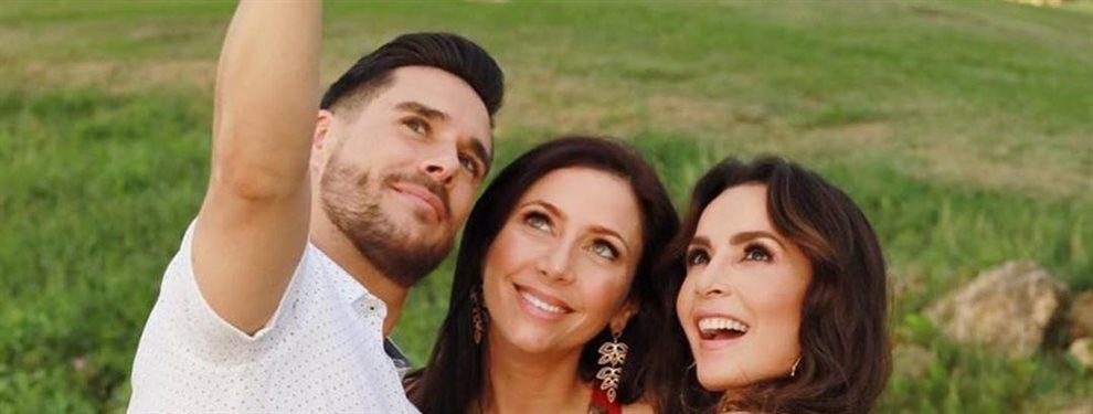 Aparecen fotografías de los preparativos de la boda de Carmen Villalobos y Sebastián Caicedo.