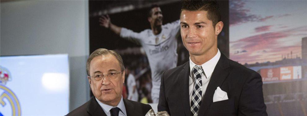 Florentino Pérez quiere que Cristiano Ronaldo vuelva a formar parte del Real Madrid