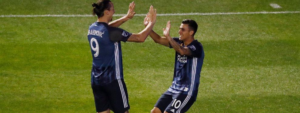 Los Angeles Galaxy derrotó al Real Salt Lake, con un gol de Pavón, y avanzó a los playoffs de la MLS.