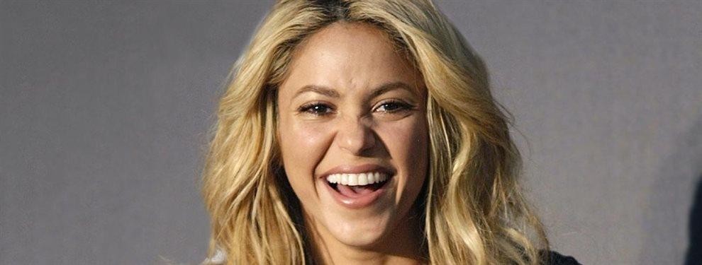 Una cuenta de fans rescató una vieja foto de Shakira presumiendo de cuerpo, del año 2002