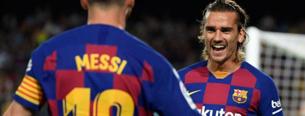 El Barcelona recibió una multa de 300 euros a raíz de la denuncia del Atlético de Madrid por el traspaso de Antoine Griezmann.