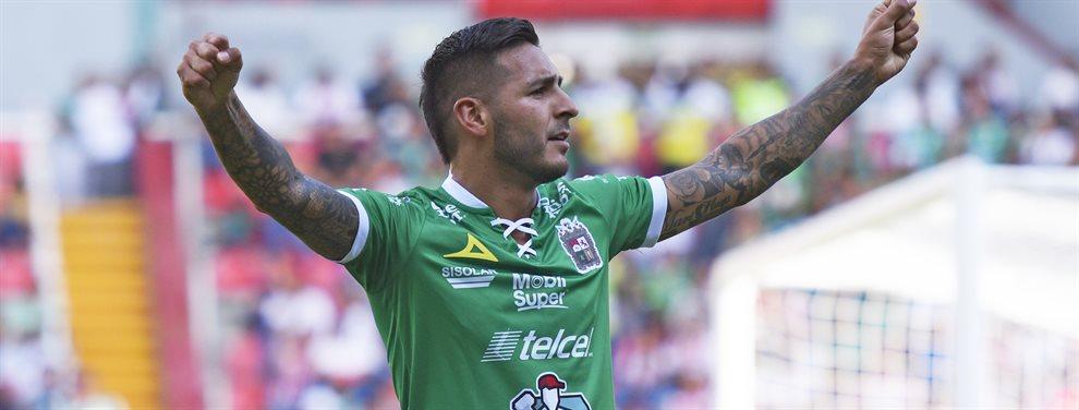 Ismael Sosa, el argentino que actúa en el León de México, ingresó en el segundo TOTW del FUT 20.