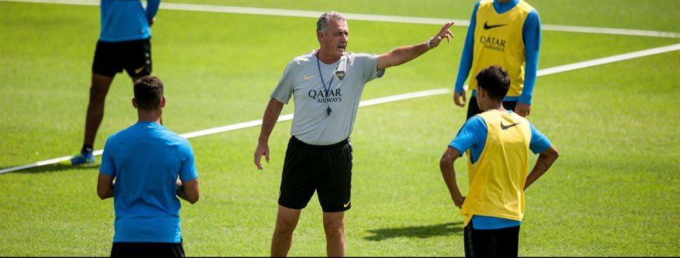 Gustavo Alfaro comienza a definir la formación de Boca para recibir a Newell's y optaría por varios titulares.