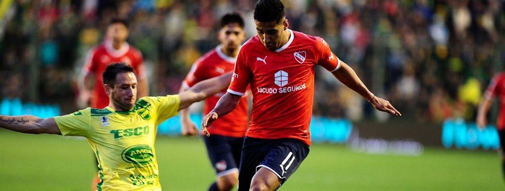 Independiente se enfrenta ante Defensa y Justicia con el futuro de Sebastián Beccacece en juego.