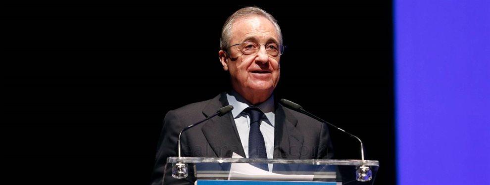 Florentino Pérez ya diseña como será el Real Madrid del futuro y tiene una larga lista de nombres