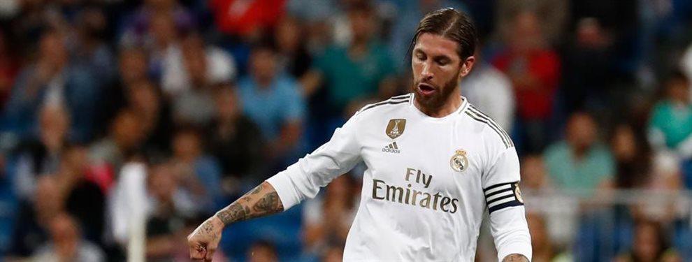 Florentino Pérez asume que Sergio Ramos tiene fecha de caducidad y se ha fijado en Milan Skriniar como sustituto