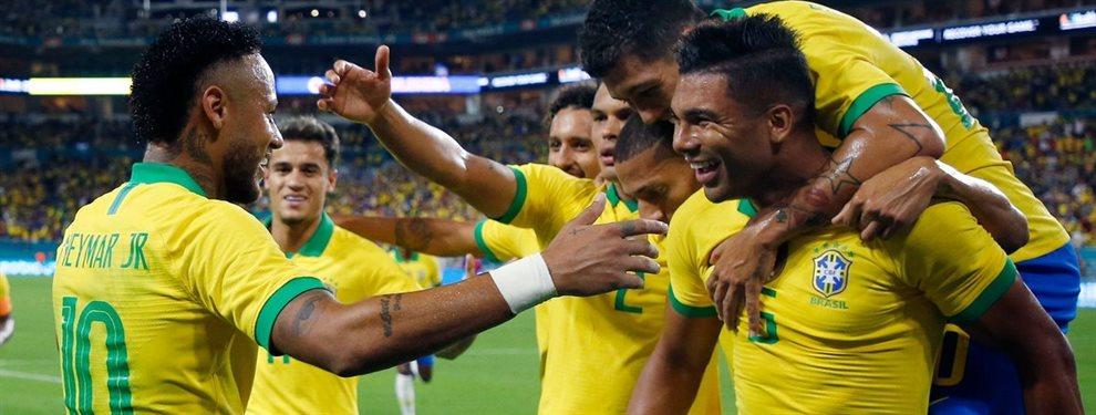 El crack brasileño que quiere Neymar para su Barça ¡Llévame contigo!. Son amigos y Xavi Hernández también le ve como un jugador determinante