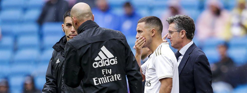 Eden Hazard y Zinedine Zidane se las han tenido tiesas, una discusión que ha llegado a los oídos de Florentino Pérez