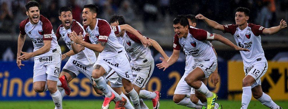 En Belo Horizonte, Colón derrotó a Atlético Mineiro en la definición por penales y avanzó a la final de la Copa Sudamericana.