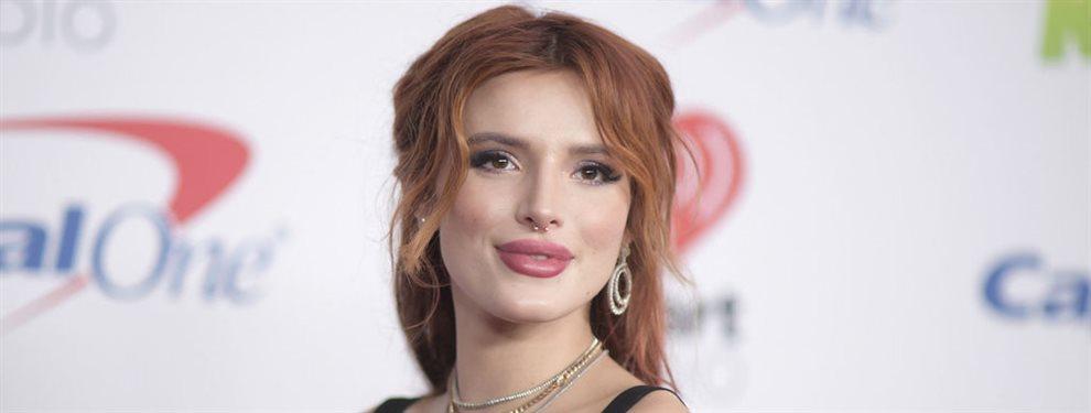 La actriz estadounidense, Bella Thorne, ex protagonista de la serie A todo ritmo de Disney, ha participado en diversos proyectos.