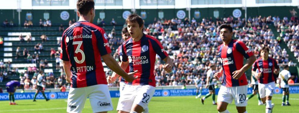 En el estadio Florencio Sola, San Lorenzo derrotó 1 a 0 a San Lorenzo por la octava fecha de la Superliga.