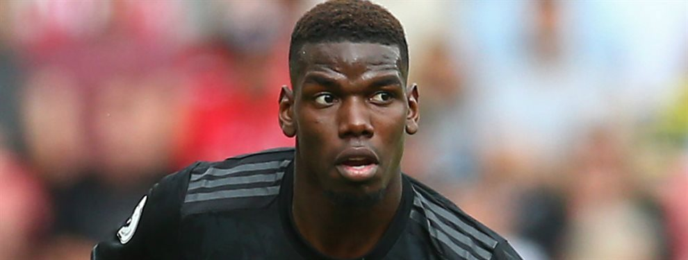 Paul Pogba podría acabar en el Real Madrid. Este verano el centrocampista francés quiso abandonar el Manchester United.