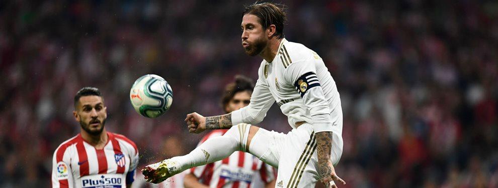 Sergio Ramos puede ser sancionado con cuatro partidos por insultar al cuarto árbitro
