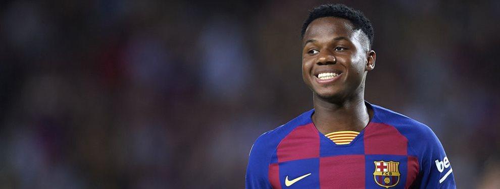 Ansumane Fati puede ser convocado por la selección española, y se dice que está en la pre lista de Roberto Moreno