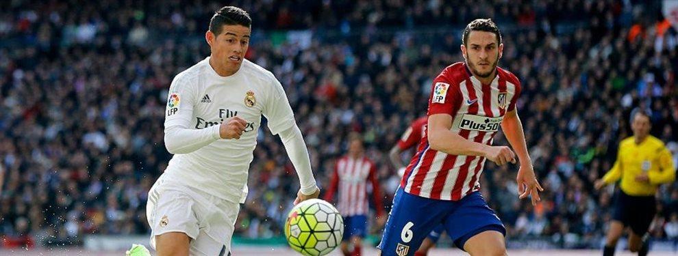 James Rodríguez no jugó en el último partido porque jugará en el duelo de Champions