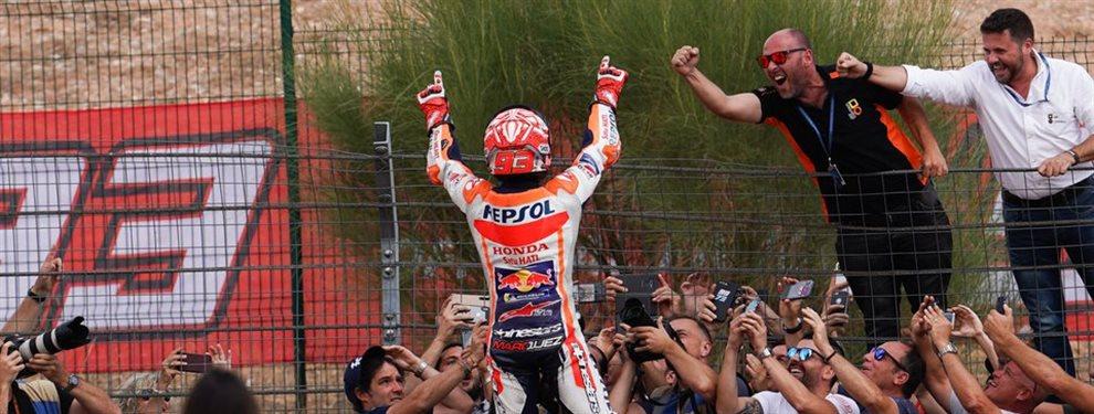 Rossi le lanza este recado a Marc Márquez ¡Y le reta!. Mientras, comienza la cuenta atrás para el sexto título del español