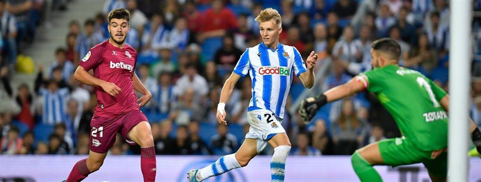 El Wolverhampton planea hacer una oferta millonaria por Martin Odegaard que convenza al Real Madrid