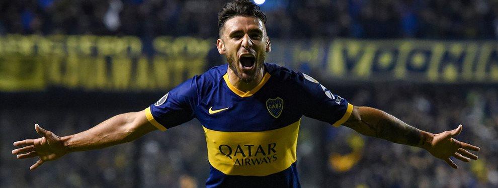 Eduardo Salvio será exigido en la antesala al partido con River para definir si podrá ser de la partida en el Monumental.