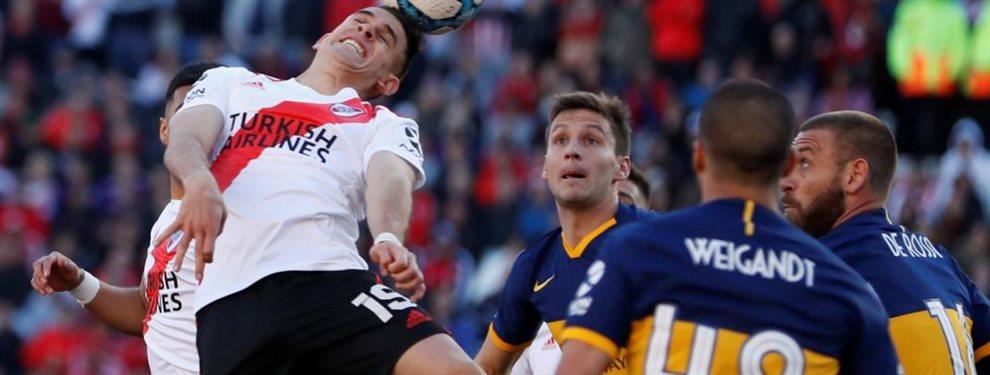 River y Boca se enfrentan en el Monumental por la semifinal de ida de la Copa Libertadores.