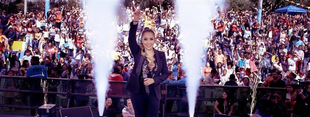 Paola Jara no quiere volver a cantar con Jessi Uribe por los cotilleos que se han desatado.