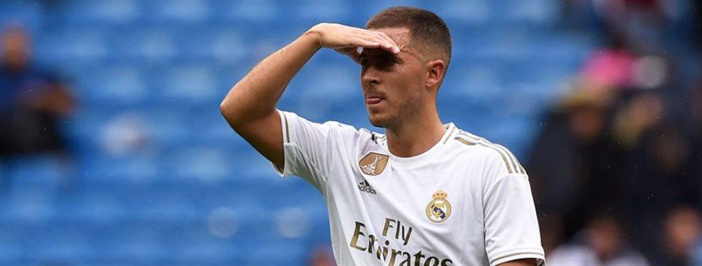 Eden Hazard está en el ojo del huracán por sus últimas actuaciones y es criticado por muchos
