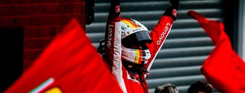 Sebastian Vettel queda una vez más retratado y tocado por su mala temporada