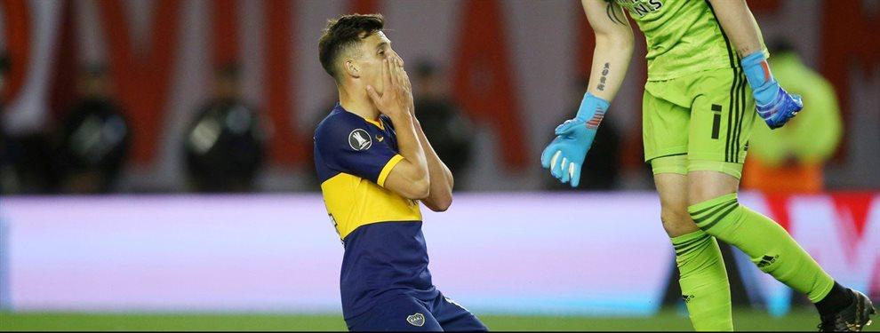 Gustavo Alfaro posee diferentes alternativas para reemplazar a Nicolás Capaldo en Boca.