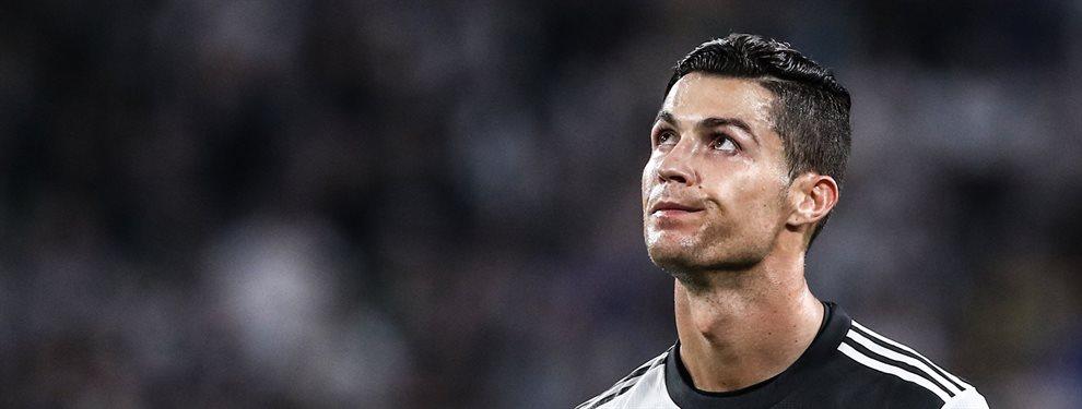 ¡Otra vez, vaya jugarreta! Cristiano Ronaldo se mete en medio y birla a esta figura de talla mundial al Barça y Maurizio Sarri está encantado