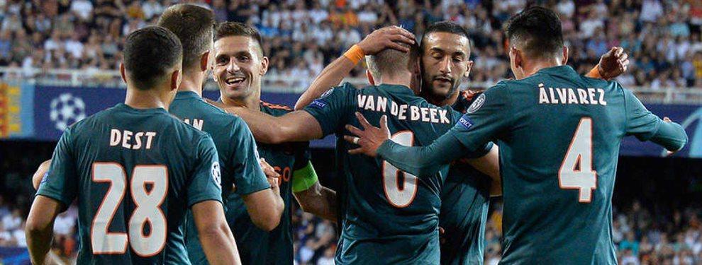 Florentino Pérez se ha fijado en Hakim Ziyech y Donny Van de Beek, a los que Zidane ha aprobado