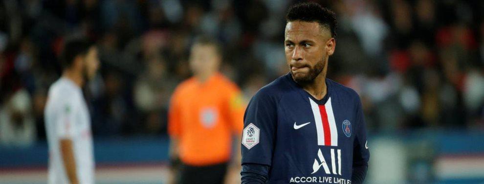 Neymar no pondrá facilidades en su salida del PSG y pide al Barça un sueldo de locura