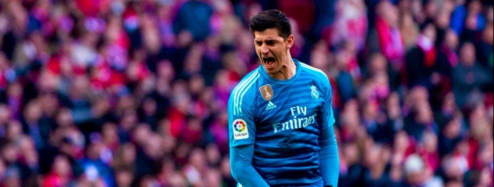 Thibaut Courtois tiene los días contados en el Real Madrid y Foreentino Pe´rez ya tiene preparado a su sustituto ¡Y el PSG y el Barça están alucinando!